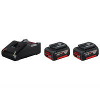 Набор BOSCH Professional PRO-MIX 2 аккумулятора 4,0 Ач Li-ion 18 В + зарядное устройство GAL 18V-40