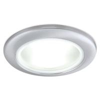 Точечный светильник Ambrella Лессен 1х50 Вт GU5,3 хром IP44