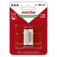 Аккумулятор AAA (R3) Smartbuy 1100 mAh 2 шт