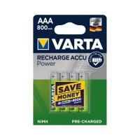 Аккумулятор VARTA АAА (LR3) 800 mAh 4 шт