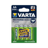 Аккумулятор VARTA АA (LR6) 2100 mAh 4 шт