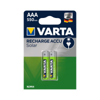 Аккумулятор VARTA Solar АAА (LR3) 550 mAh 2 шт
