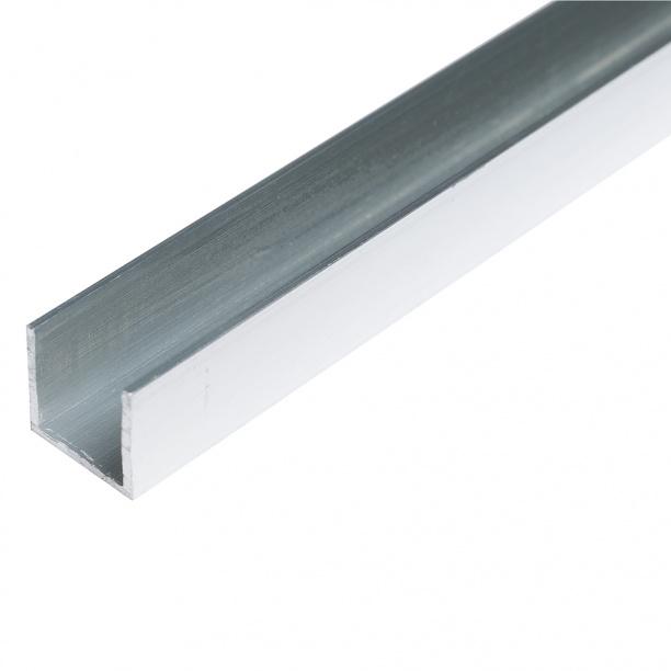 e120efc59b8dd Профиль U-образный алюминиевый 20x20x20х1000 мм толщина 1,5 мм ...
