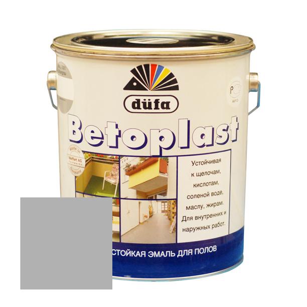 Эмаль для пола dufa betoplast серебристо-серая 5 л наливной пол черновой цена