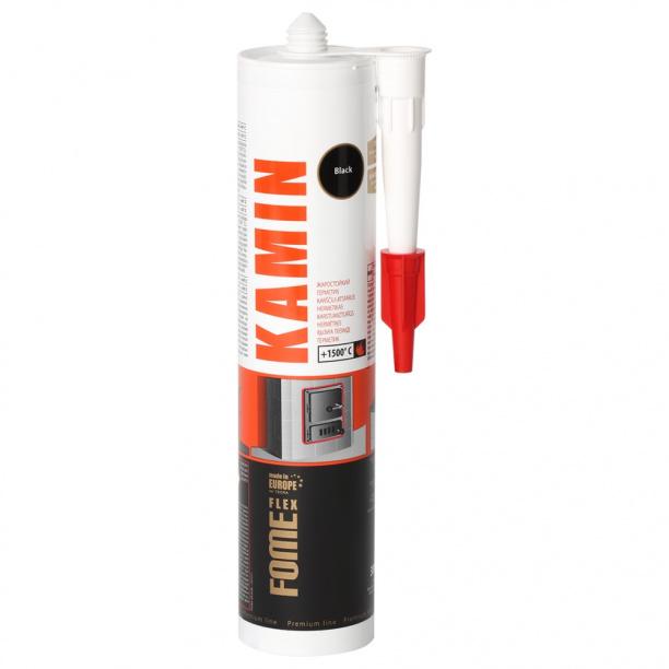 55d990a12f52 Герметик термостойкий Fome Flex Kamin 1500С 300 мл купить недорого в ...