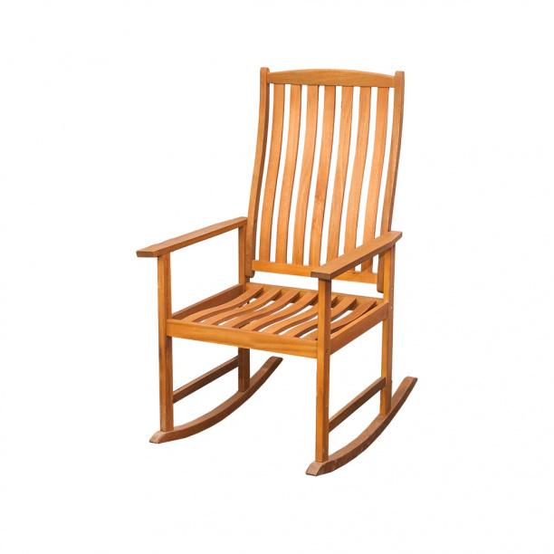 кресло качалка деревянное эвкалипт купить недорого в интернет